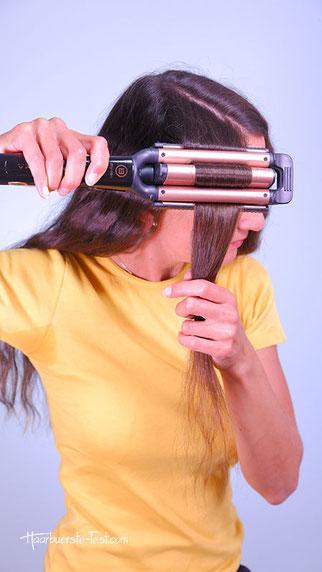volumen für die haare, mehr volumen in die haare