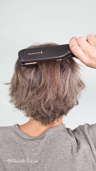 kreppen kurze haare