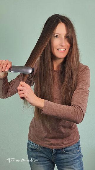 Haarglätter für mittellange und lange Haare