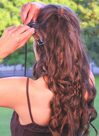 Golden Curl Lockenstab Anwendung