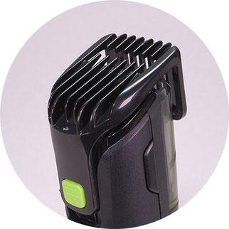 Barttrimmer für längere Bärte: Es sind Schnittlängen von 0.5 bis 18mm möglich
