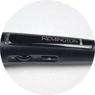 Lockenstab von Remington Schalter