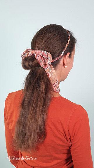 haarband zopf, haarreif frisur