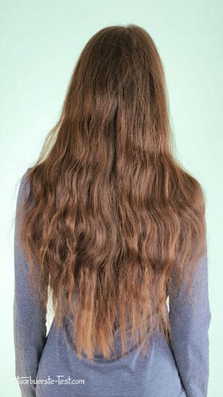 Steampod vorher lange Haare