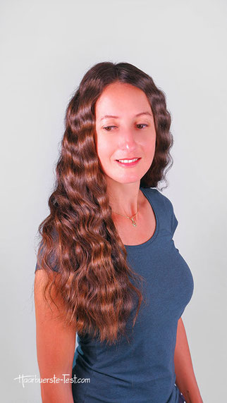 deep waves, deep waver, haare mit welleneisen