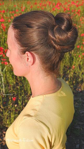 dutt dünne haare