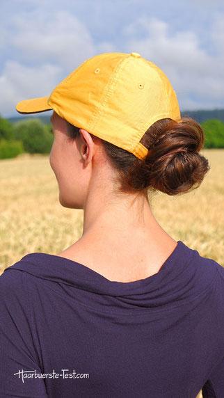 frisuren für caps frauen, frisuren mit basecap