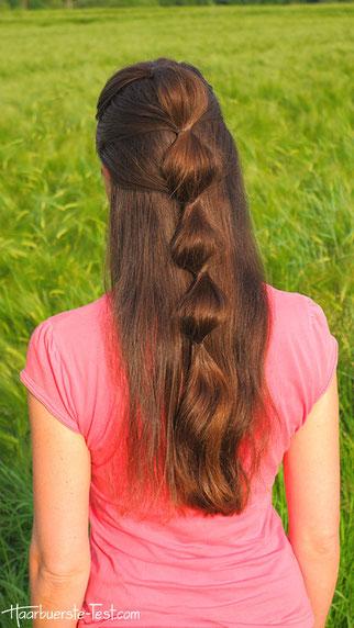 Offen haare frisuren anleitung lange Sommerfrisuren für