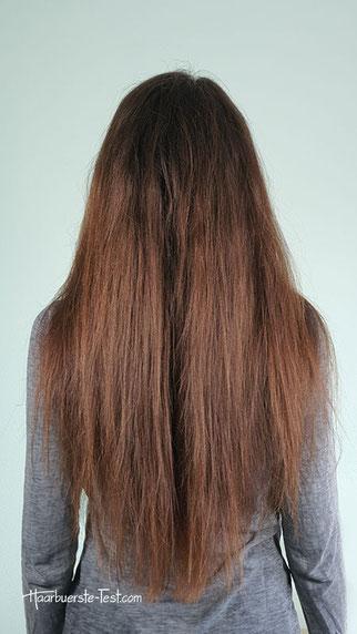 Lange Haare vor dem Kreppen