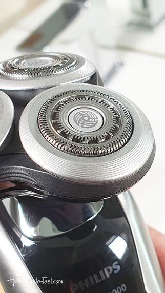 Detail Rasiererkopf Philips Elektrorasierer S9711/31