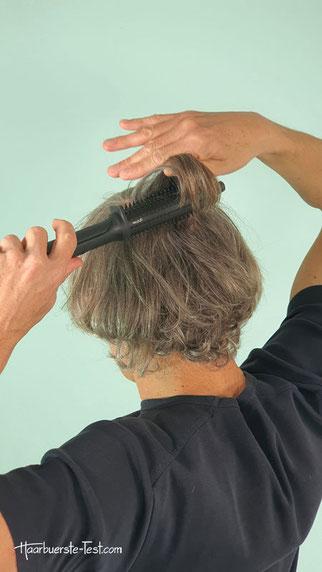 GHD heiße Rundbürste, ghd rise hot brush tutorial