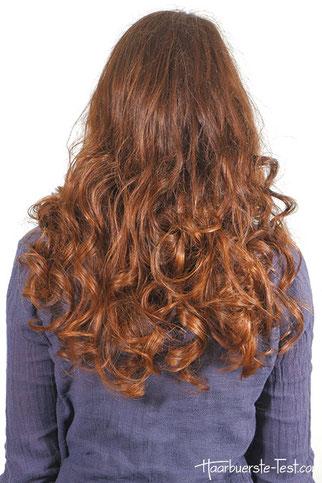 Locken mit Haarband