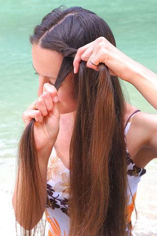 Haare kordeln