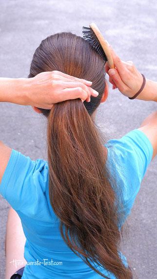bubble ponytail, bubble tail