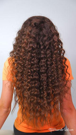 Afro Locken lange Haare