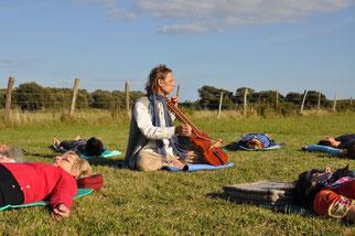 relaxation musicale après la séance de Yoga de la Voix