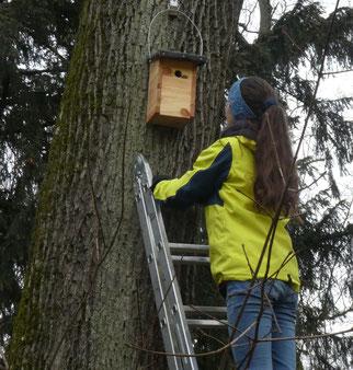 Naturbotschafter Junior-Gruppe (Foto: Christine Behr)