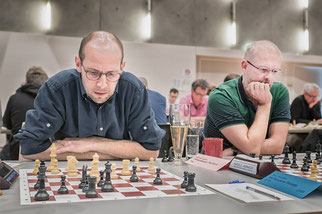 Joachim Dornauer und Reinhard Heimberger