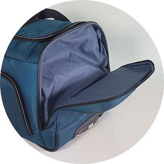 Titan Rollenreisetasche, Reisetasche mit  Rollen und Schuhfach