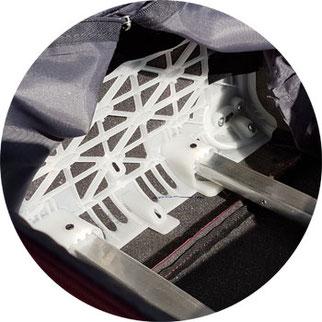 Schaumstoffverkleidung Herolite Trolley