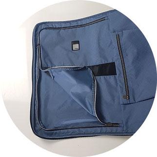 Reisetasche mit Hemdenfach