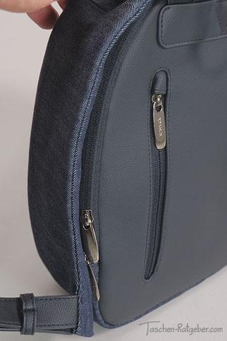 Rucksack mit Geheimfach am Rücken