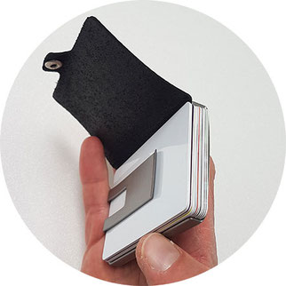 I Clip Wallet, I Clip wieviele Karten, I Clip 12 Karten