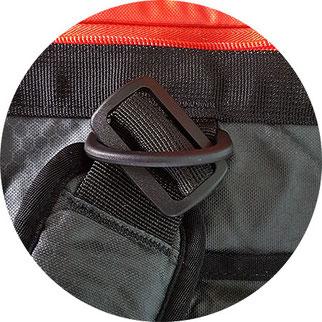 reisetasche rucksack kombination