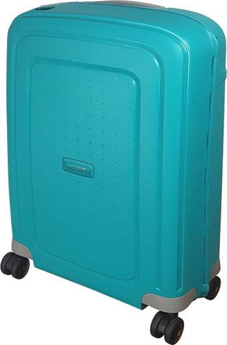 Samsonite S'Cure aqua blue, Hardcase-Trolley fürs Handgepäck