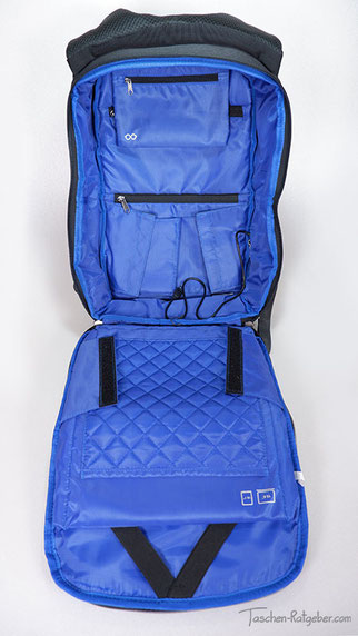 rucksack aufklappbar