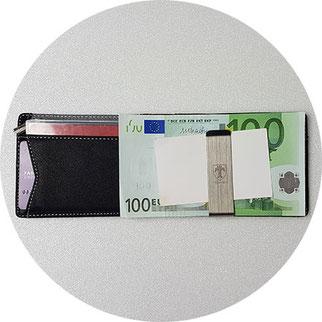 Travando Kartenetui mit Geldklammer, Travando Geldbörse