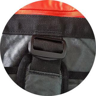 Reisetasche als Rucksack tragbar, Reisetasche Rucksackfunktion