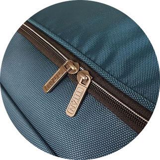 Reißverschluss Titan Reisetasche mit Rollen
