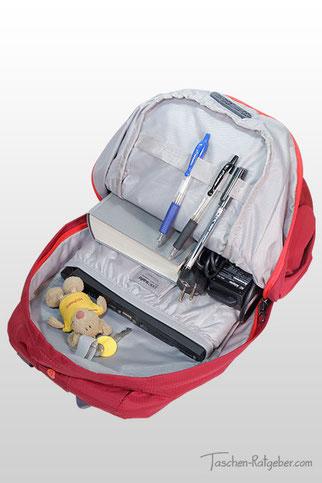 pacsafe venturesafe 15l, kleiner laptop rucksack