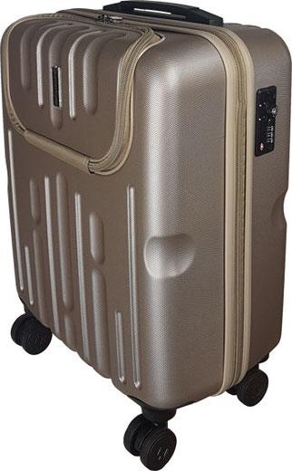 Hauptstadtkoffer Trolley gold 54 cm mit Laptopfach, Hauptstadtkoffer im Test, Trolley mit laptopfach, koffer mit Laptopfach, Trolley laptopfach
