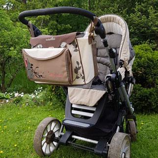Babymoov Wickeltasche-Kinderwagen