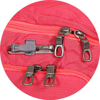 pacsafe roobar style locking system