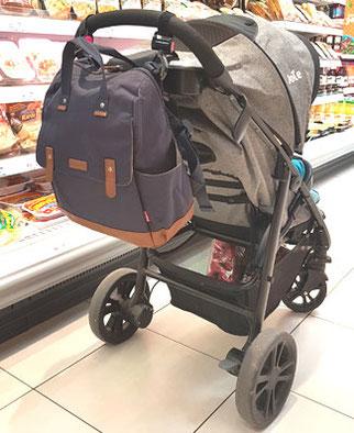 Babymel Robyn Kinderwagen Wickeltasche