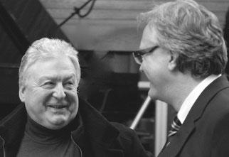 Die Kunstraum-Betreiber und Macher der tOG - Heinz Kehrer und Dirk Palder, take OFF GALELRY, Germany