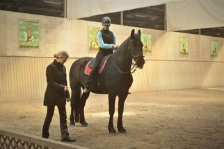 Bettina und Weto, Foto: K. Westendorf