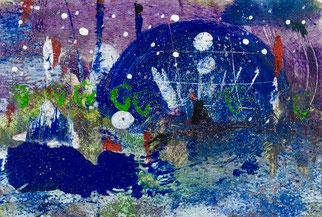 Stagione di colori, 2016, tecnica mista, 16 x 11,5 cm