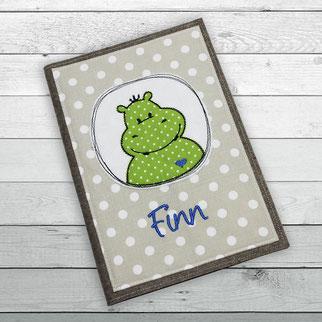 U-Hefthülle Hippo Nilpferd