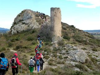 Rando galette : Maussane, Tours de Castillon : dimanche 08/01/2017