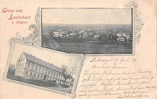 Bild: Seeligstadt Lauterbach 1902