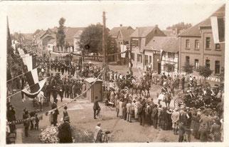Verbandsschützenfest Kelz 1924