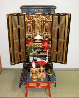 仏壇供養の荘厳