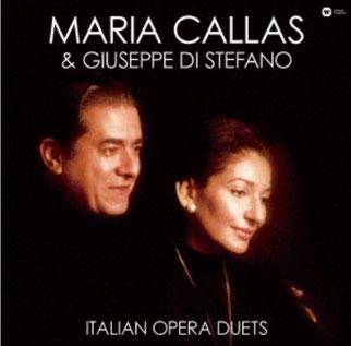 『永遠のイタリア・オペラ デュエット集』 マリア・カラス &ディ・ステファノ ワーナーミュージック・ジャパン