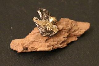 Pin aus der Silber und Gold - individuelle Fertigung von Schardelmann Schmuck