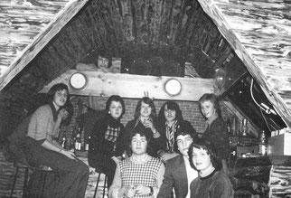 Das Backhaus als Fetenbude in den Siebzigern