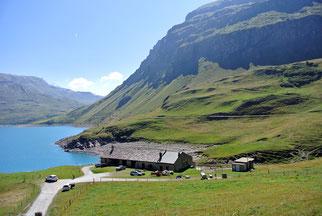 …zum malerischen Lac du Mont Cenis